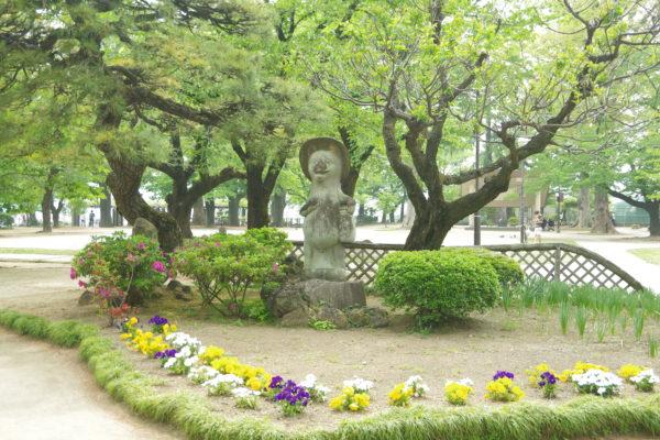 高崎公園 石像