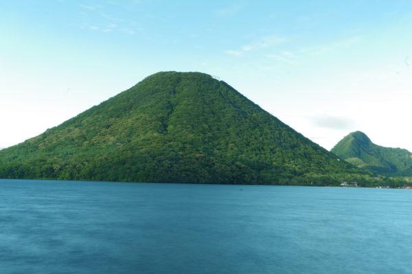 榛名山 湖