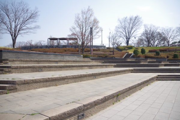 楽歩堂前橋公園 親水・水上ステージ
