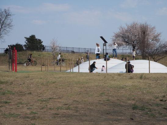 城山みはらし公園 ふわふわドーム