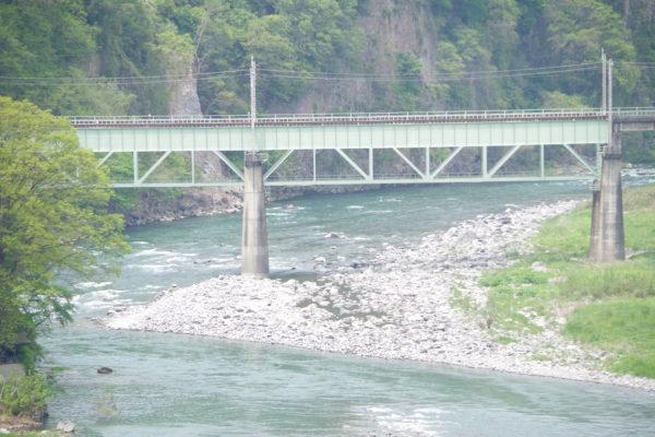 棚下不動の滝 川