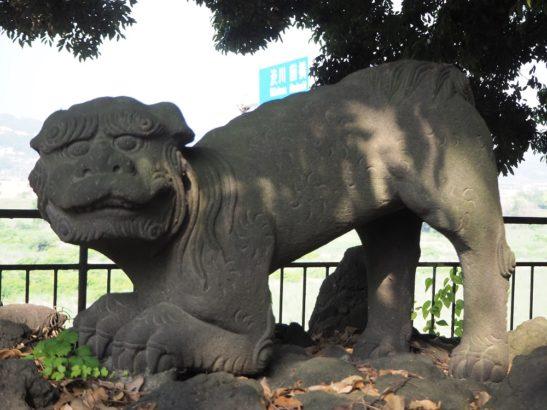 頼政神社 狛犬