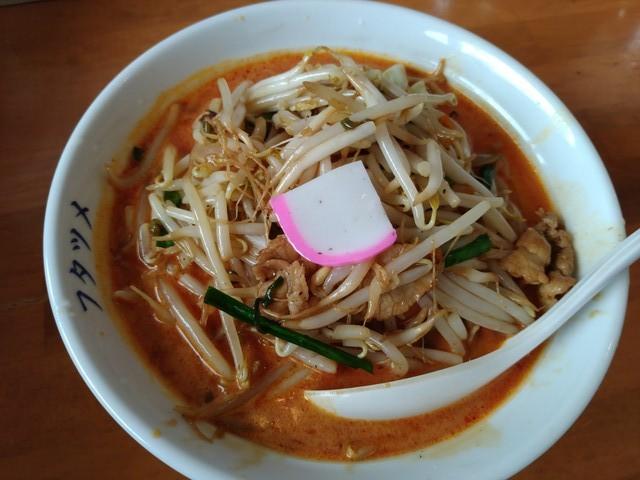 フタツメ 辣椒(ラージョー)味噌タンメン