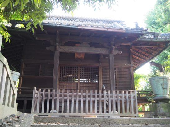 頼政神社 拝殿