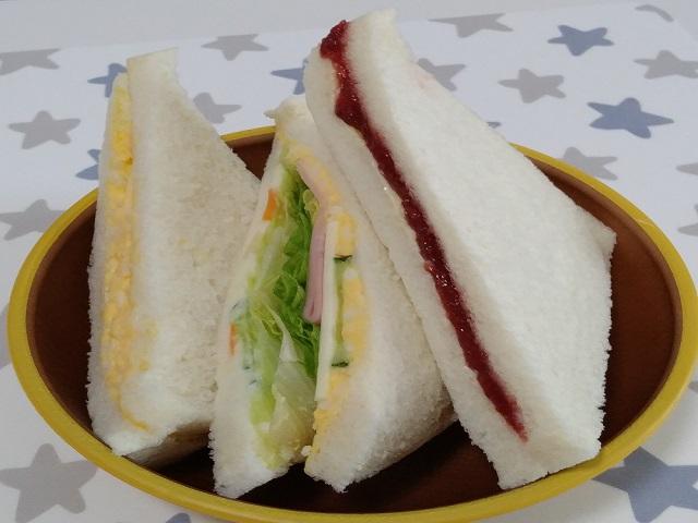 サークル 商品 サンドイッチ