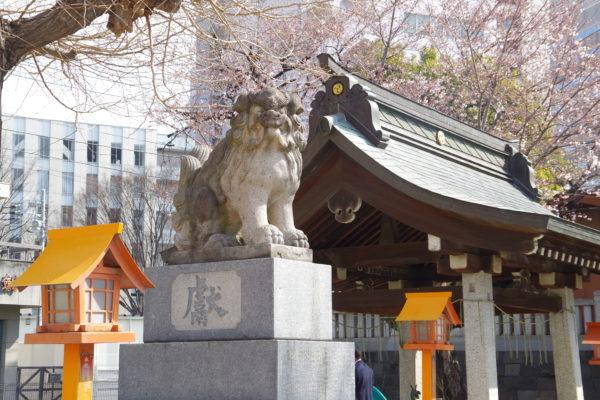 前橋八幡宮 狛犬