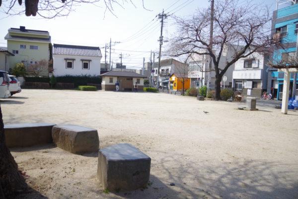 前橋八幡宮 公園