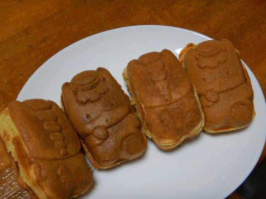 しんとうむらのぐんまちゃん焼き 商品 かぼちゃ