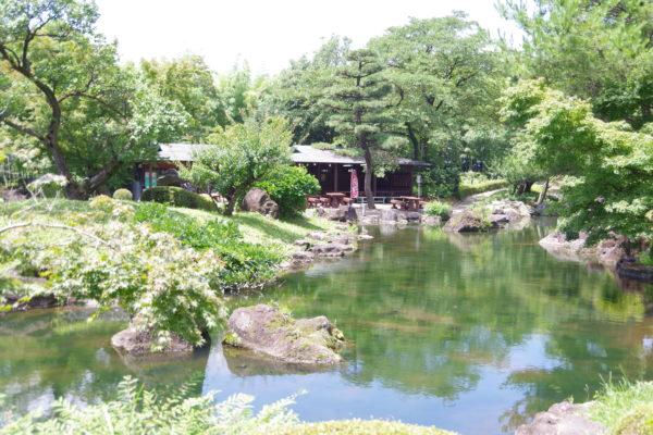 ぐんまフラワーパーク 日本庭園エリア
