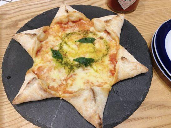 星形マルゲリータピザ チーズびより