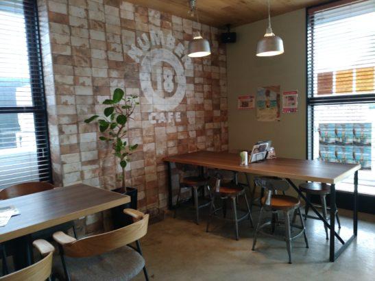 CAFE18番 店内