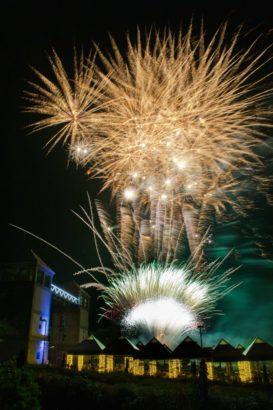 ぐんまフラワーパーク 花火