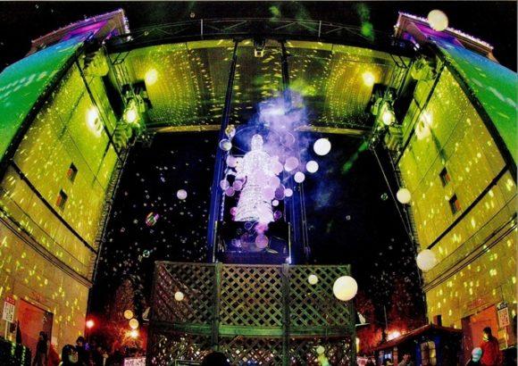 ぐんまフラワーパーク 光の饗宴「プロジェクションマッピング」