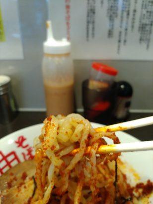 東京麺珍亭 油そば 激辛どろ唐辛子