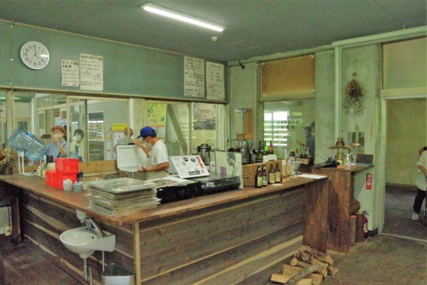 駅茶mogura カウンター