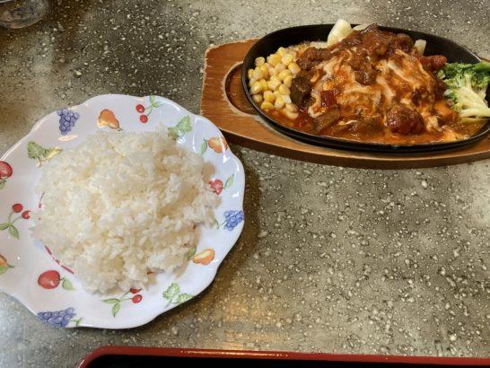 桐生市 カフェルポ 喫茶店 釜めしオムライス