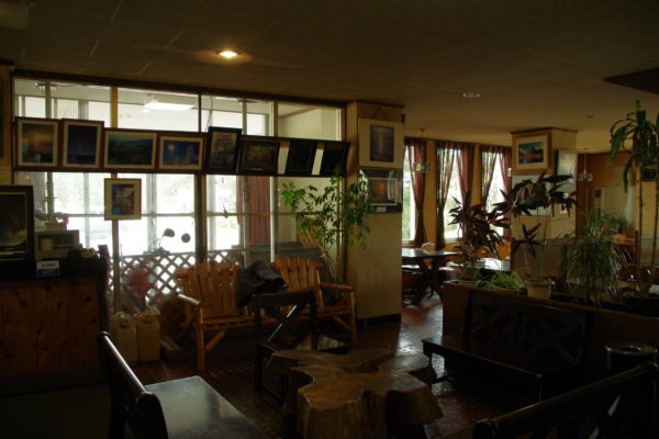 渋峠 渋峠ホテル 喫茶食堂室内