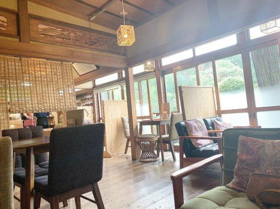 店内風景 茶フェ ちゃきち 富岡市