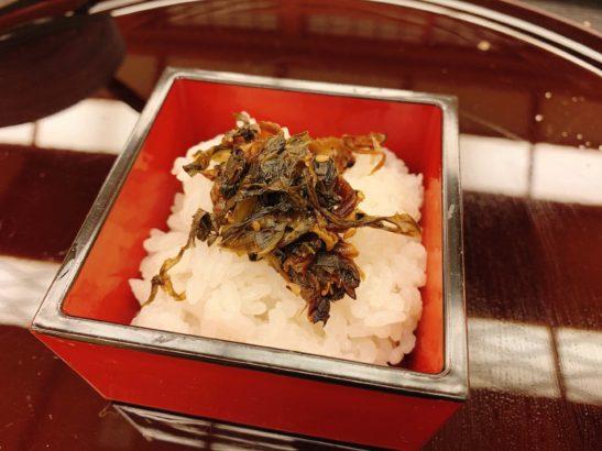 香雲館高菜御飯