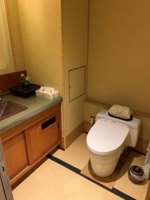 香雲館トイレ