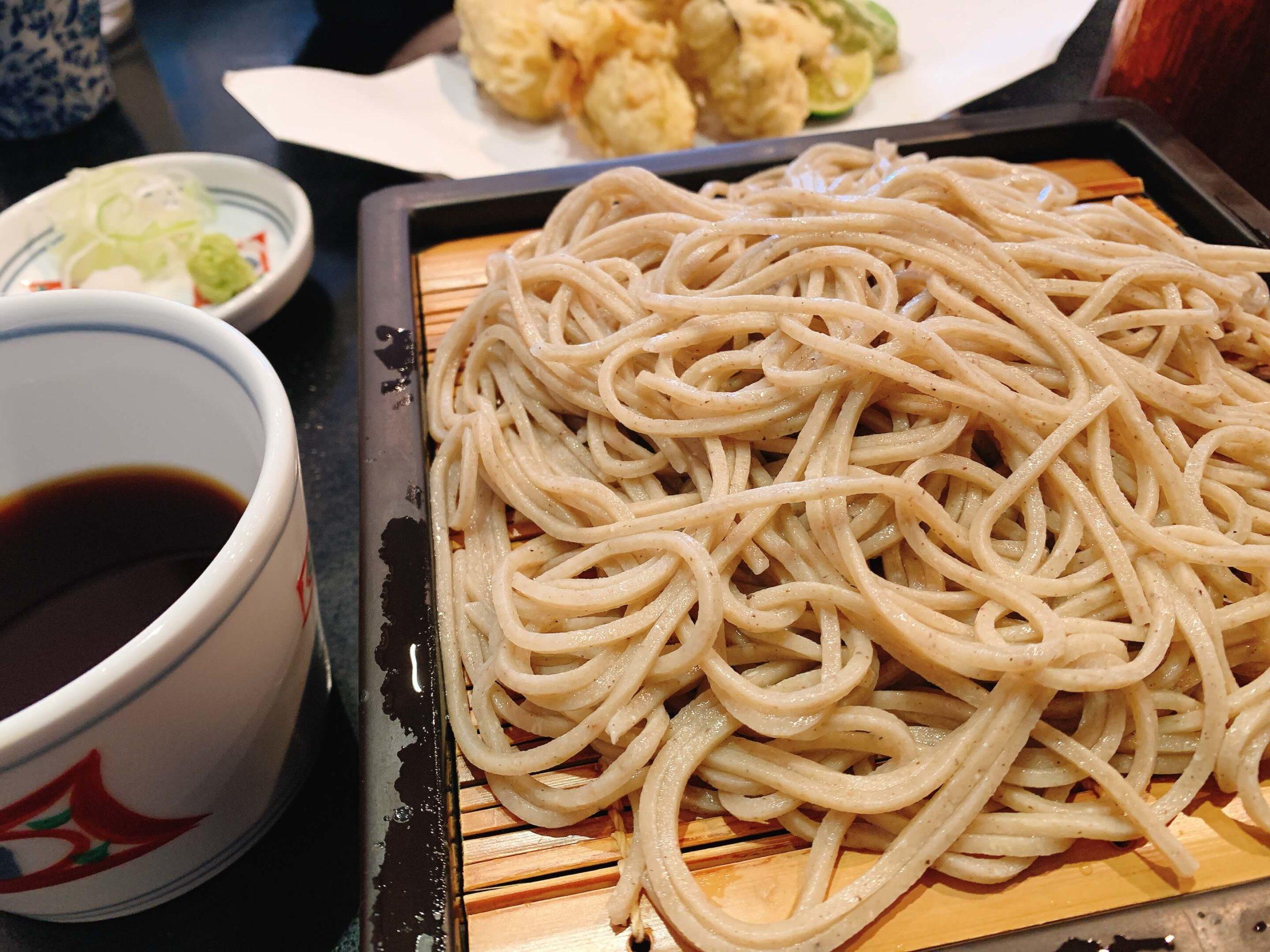 軽井沢 川上庵 蕎麦 予約