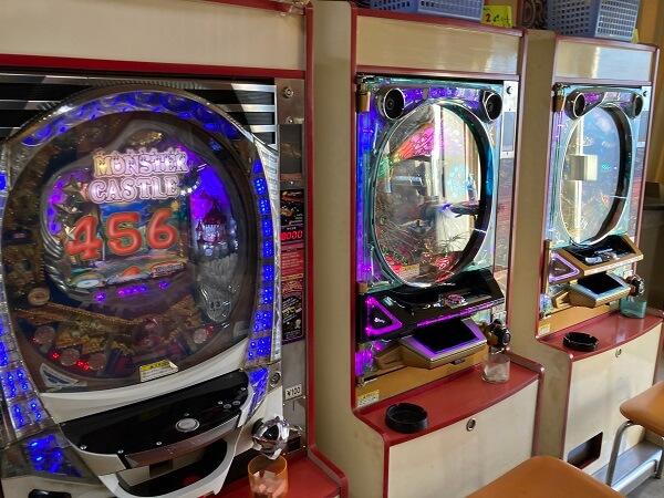 ゲームコルソ高崎店 レトロ自販機