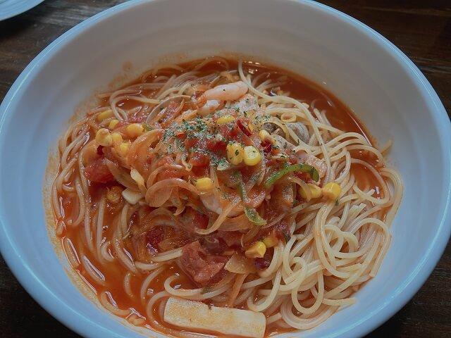 高崎市 カフェ 六曜館 スープスパ