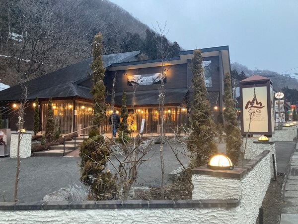 みなかみ町 山カフェボサノバ ショコラ