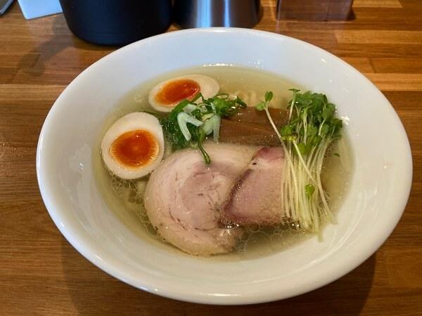渋川市 麺処いち林 塩そば