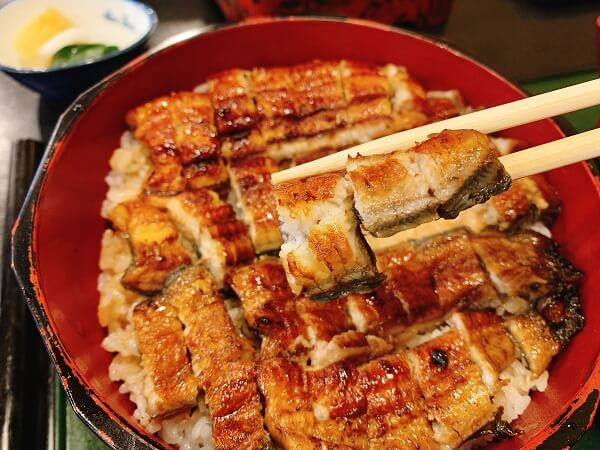 埼玉県熊谷市 うなぎ川菊 うな重 ひつまぶし どじょう 鯉