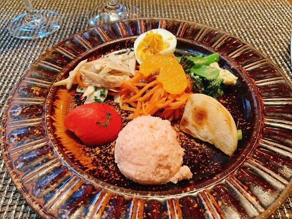 長野県軽井沢町 ピレネー 暖炉 レストラン メニュー