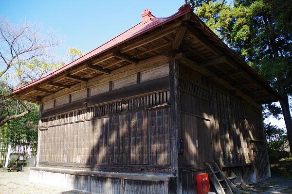 群馬県渋川市赤城町 敷島のキンメイチク 金明竹 天然記念物 竹林